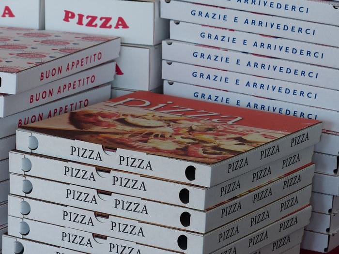 envases nocivos pizzas