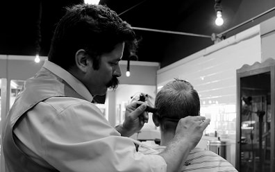 el peluquero chiste