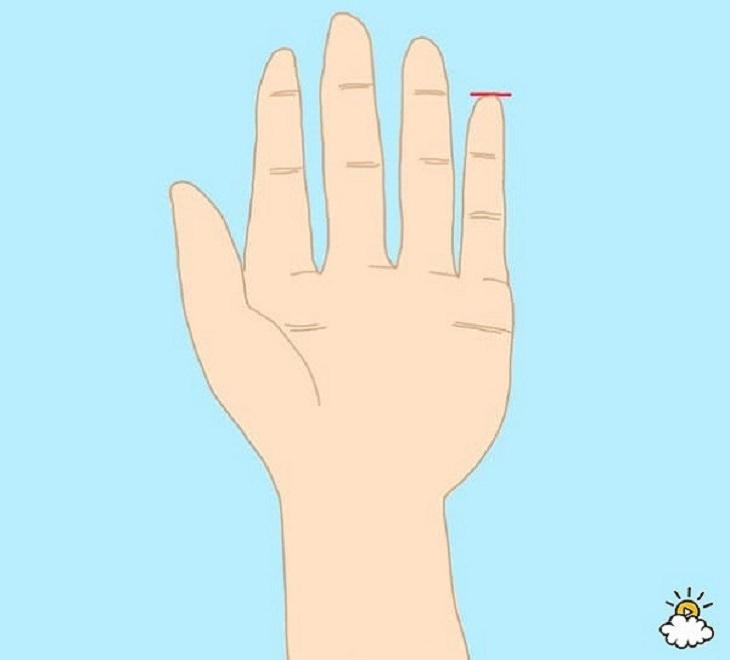 dedo meñique personalidad