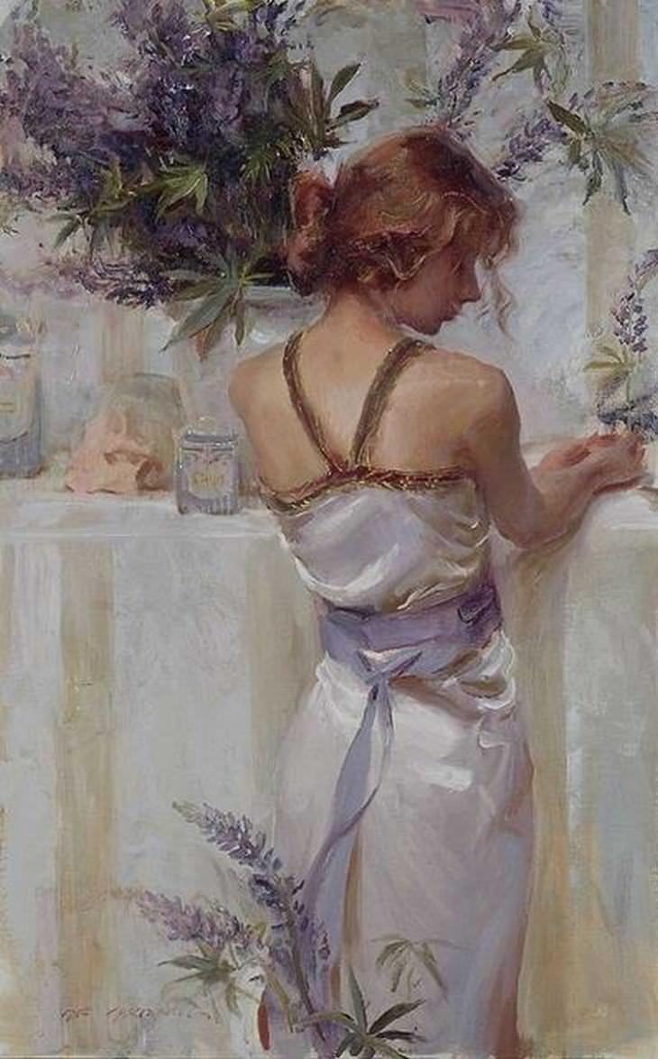 pinturas románticas Daniel F. Gerhartz