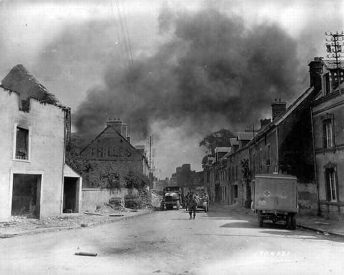 Normandía Durante y Después