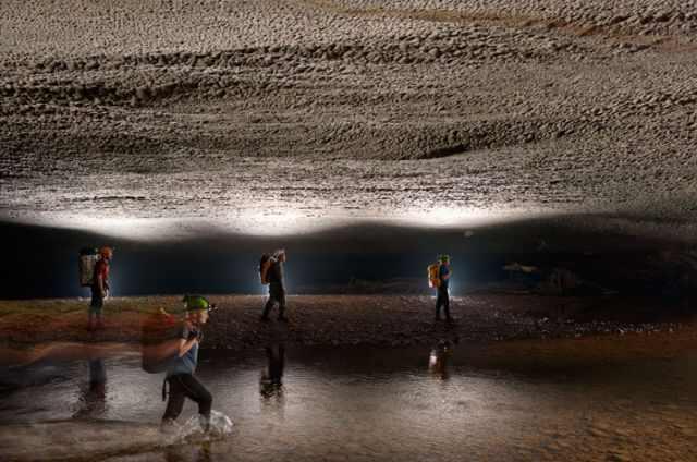 Imágenes sorprendentes de la cueva más grande