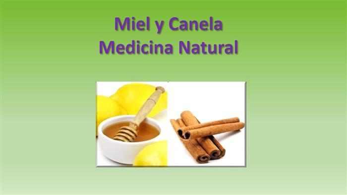 Consejos sobre el uso de la miel y la canela
