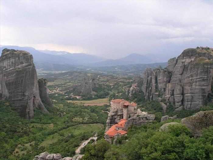 paisajes de la naturaleza en Grecia
