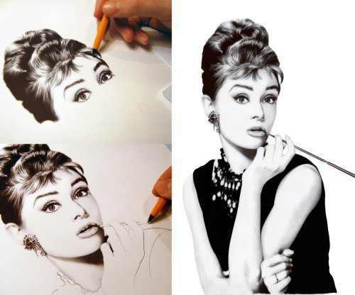 arte con bolígrafo