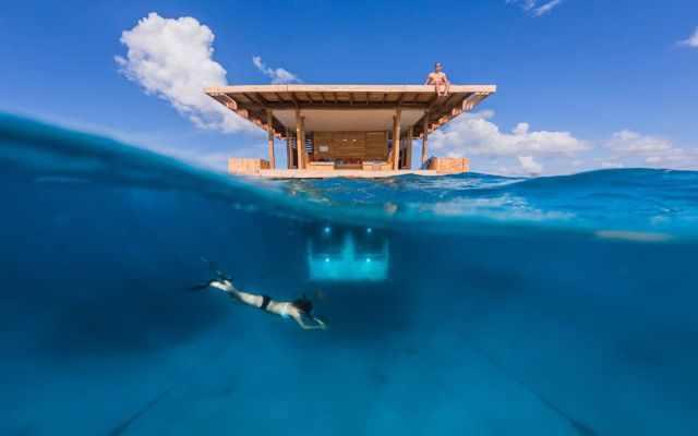 Habitación flotante