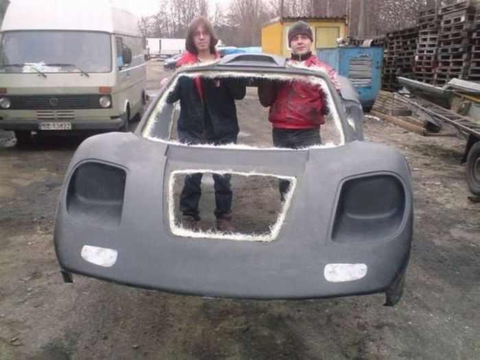Súper-auto casero