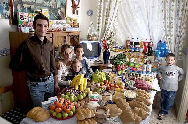 Alimentos en el mundo