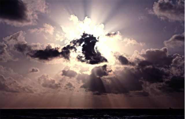 rayos crepusculares