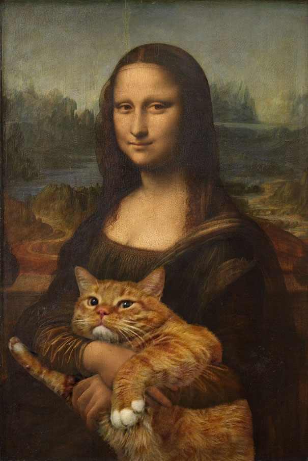 Gato en pinturas