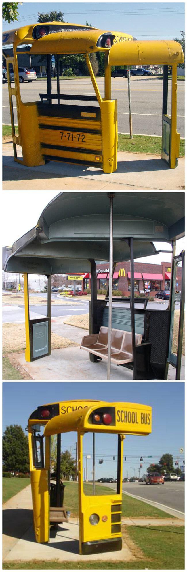 Paradas de Bus