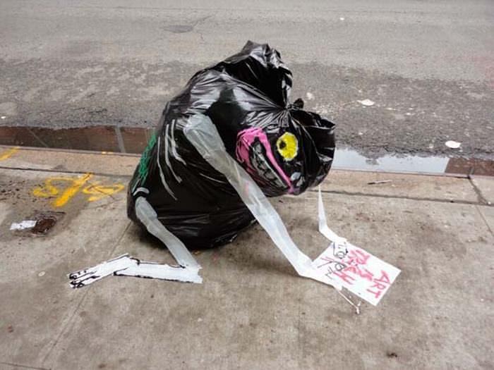 basura convertida en arte