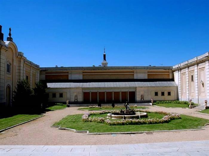palacio del pardo en Madrid
