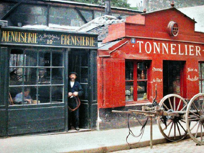 fotos paris hace 100 años