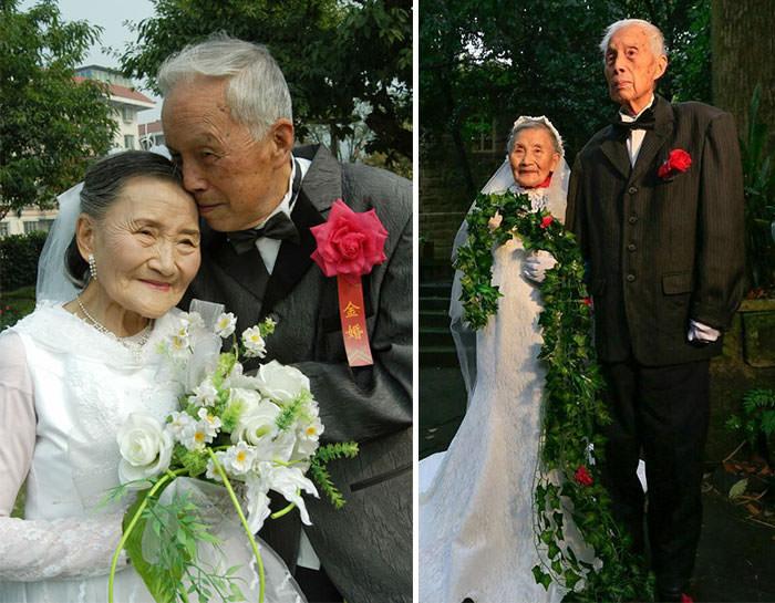 Esta Pareja Hizo Algo Muy Dulce Por Su Aniversario..70 Años Después