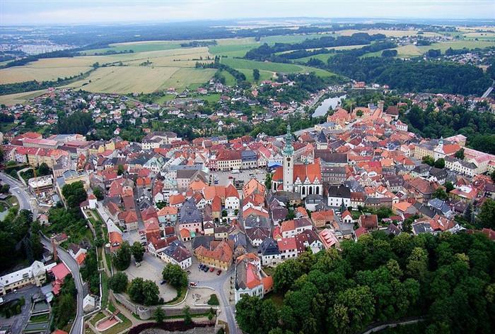 Hermosos Pueblos En La República Checa