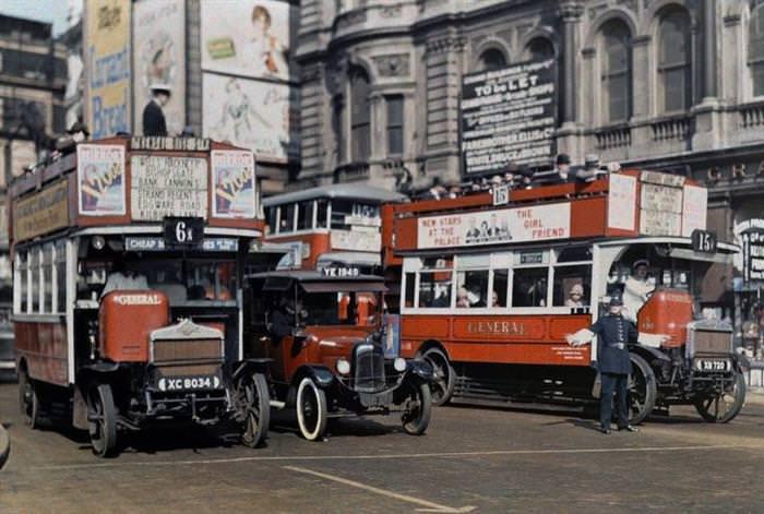 Viajemos Por El Tiempo Por El Londres De 1920