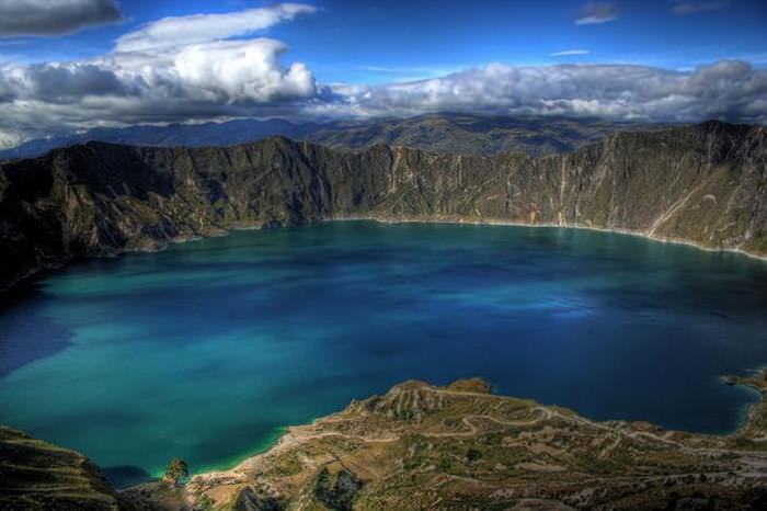 Lagos de cráter