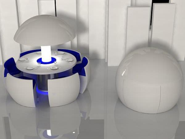 Muebles futuristas