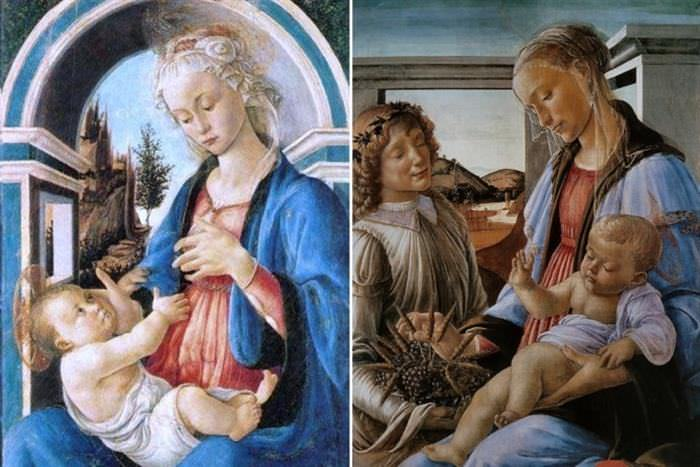 Pinturas de Botticelli