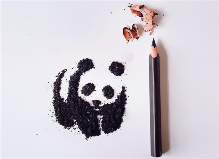 Arte con virtuas de lápiz