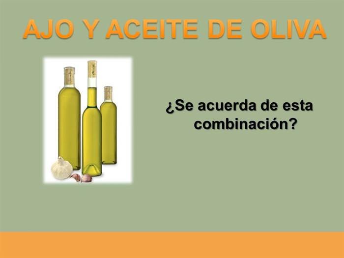 Ajo y aceite