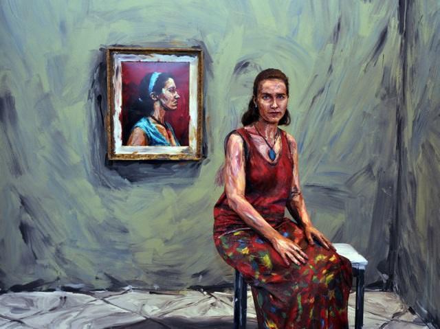 Pinturas Con Personas Reales
