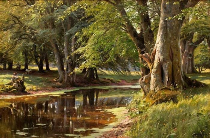 La Tranquilidad y Belleza De Las Pinturas De Peder