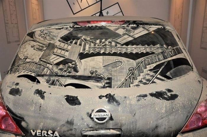 Arte en autos