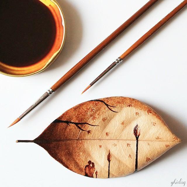 Pintura en Café