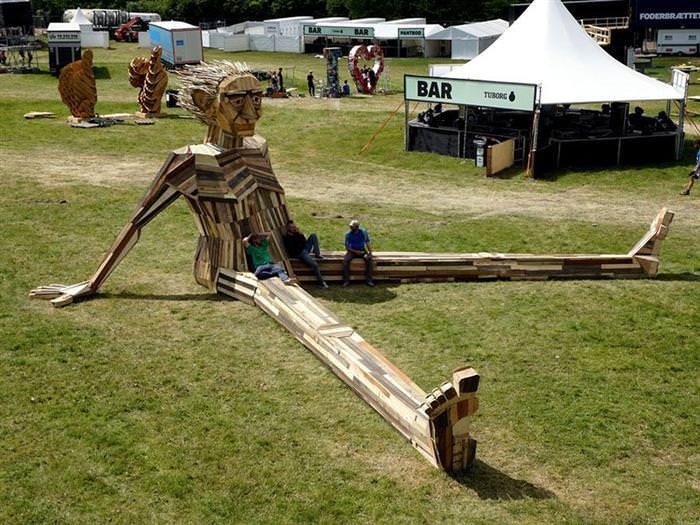 Esculturas madera