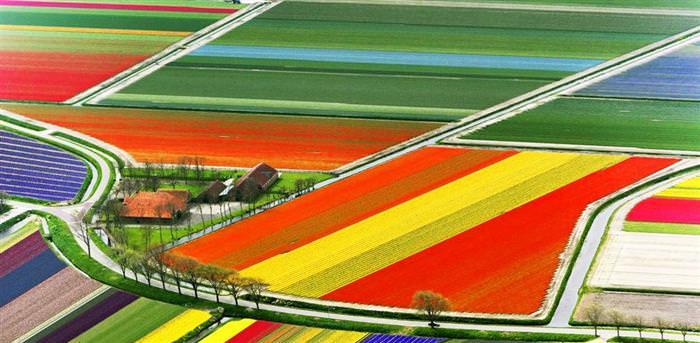 Paisajes coloridos