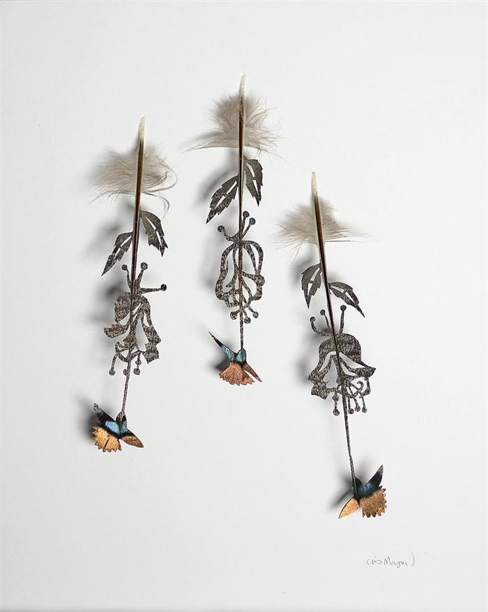 Arte plumas