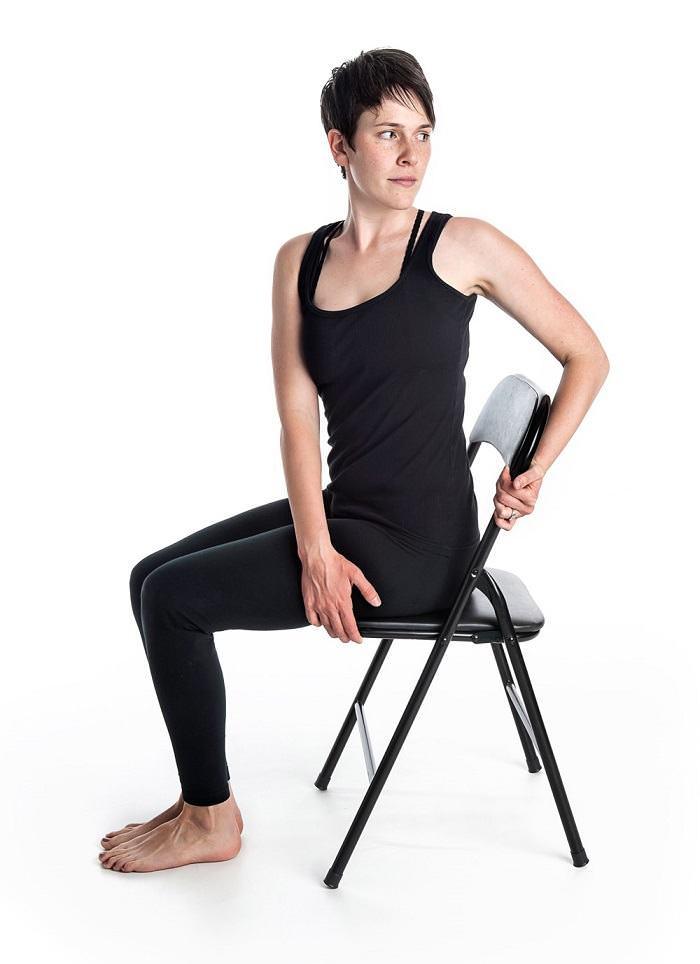 Yoga en Silla
