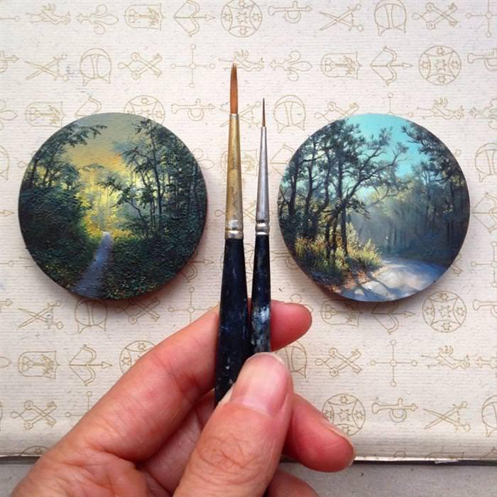 Pinturas Miniatura