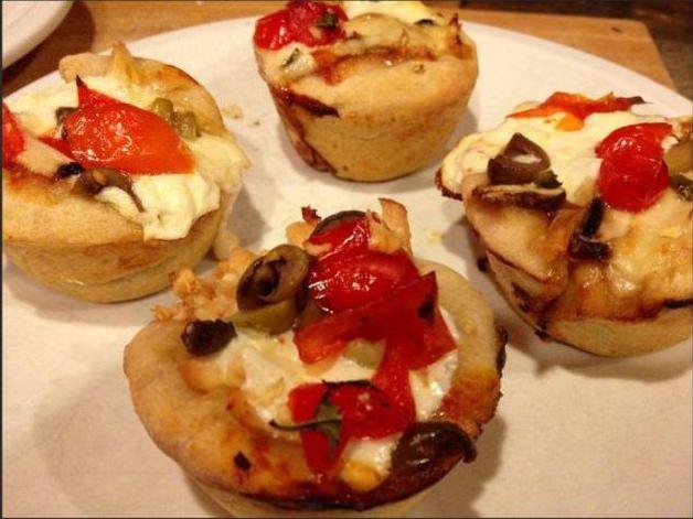 pizzas cupcakes