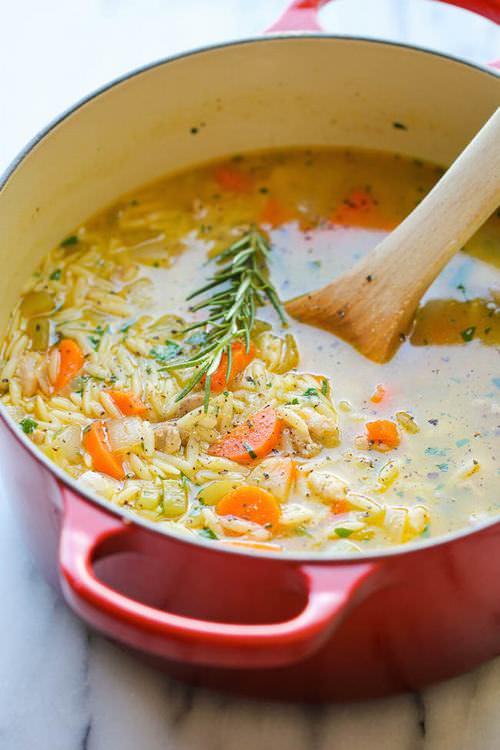 4 Deliciosas Sopas De Pollo Para Probar Este Invierno