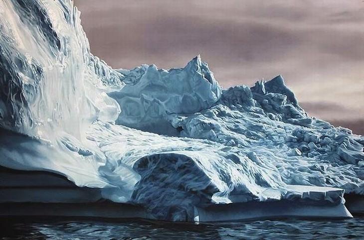 Zaria Forman pinturas