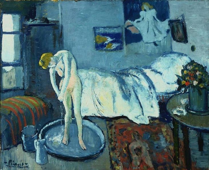 ¿Qué ves bajo la superficie? La habitación azul de Pablo Picasso (1901) 1cd87dfb-435b-4396-8fc2-bb6c0c24a154