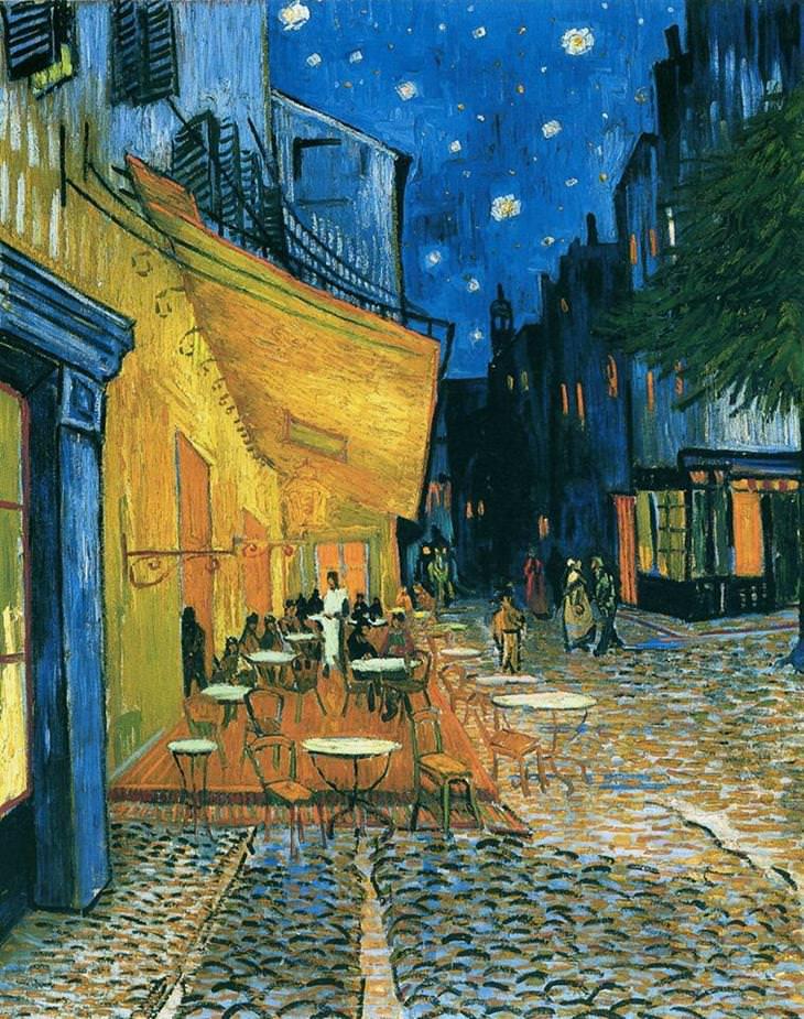 ¿La última cena de Van Gogh? Café Terraza en la noche de Vincent Van Gogh (1888) 2df5f054-a621-461e-acd4-ecc626b75cbf