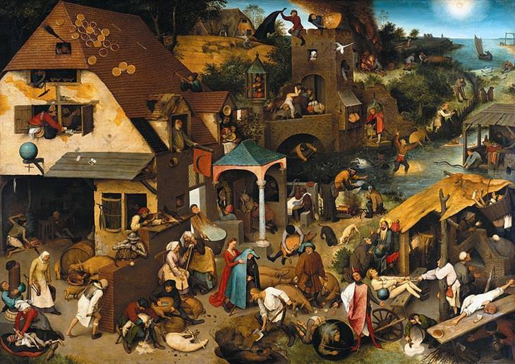 Cien proverbios en una imagenLos proverbios flamencos de Pieter Bruegel el Viejo (1559) 778ad65e-0beb-4587-8017-78deefdb400d
