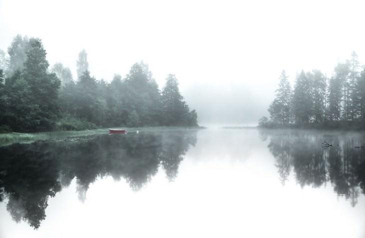 fotos invierno en Suecia