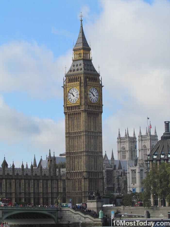 Las 10 Más Famosas Torres Del Reloj