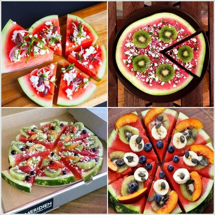 maneras de sevir el melón