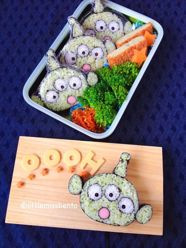 sushi convertido en arte