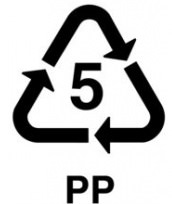Significado símbolos en botellas de plástico