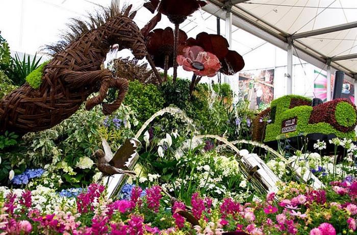 festival de flores Chelsea