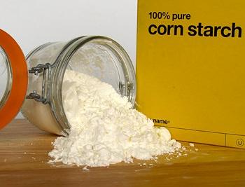 usos del almidón de maíz