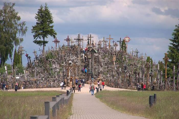 la colina de las cruces Lituania