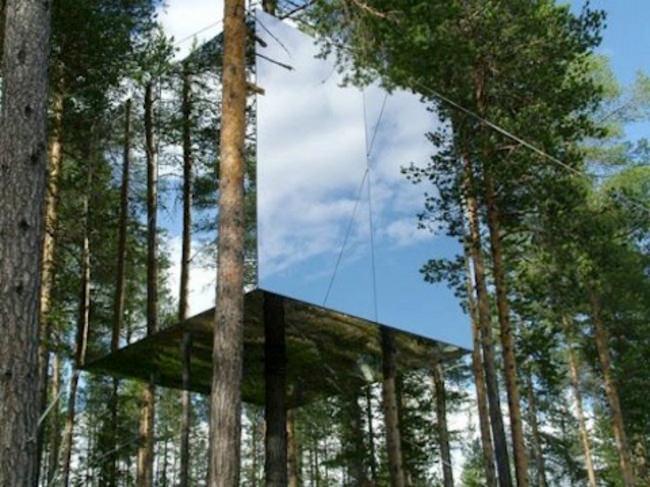 ¿Esta Ilusión Óptica Es Realmente Una Casa?